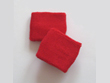red youth small size sweat wristbands wholesale for red ribbon week!