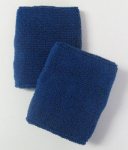 Blue Athletic Wristband