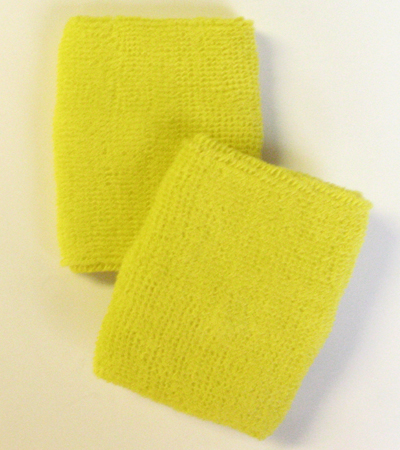 Yellow Athletic Wristband