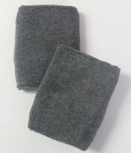 Charcoal Grey Athletic Wristband