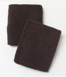Brown Athletic Wristband