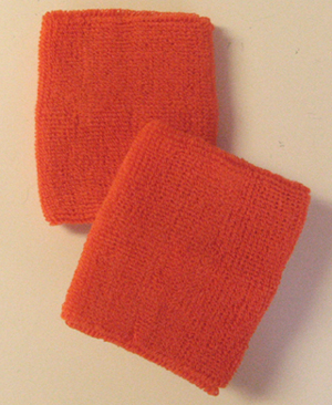 Orange Athletic Wristband