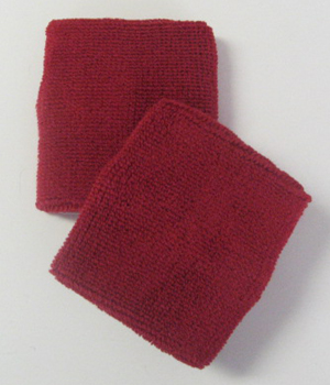 Red Athletic Wristband