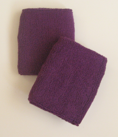 Purple Athletic Wristband