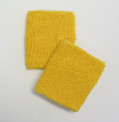 Yellow Athletic Wrist band
