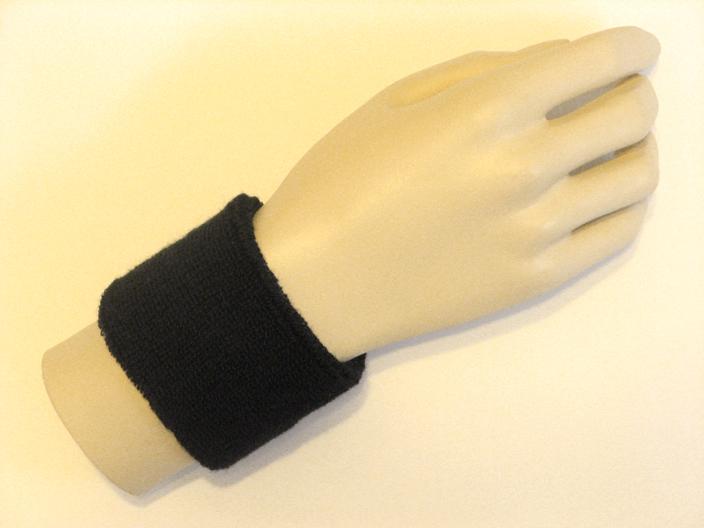 Black Sports Wristbands