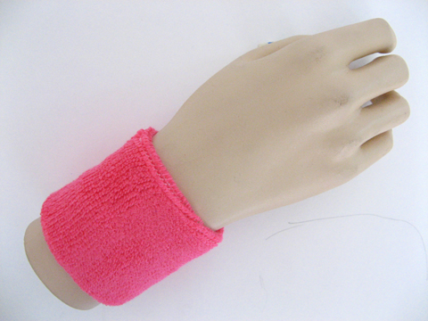 Pink Sports Wristbands