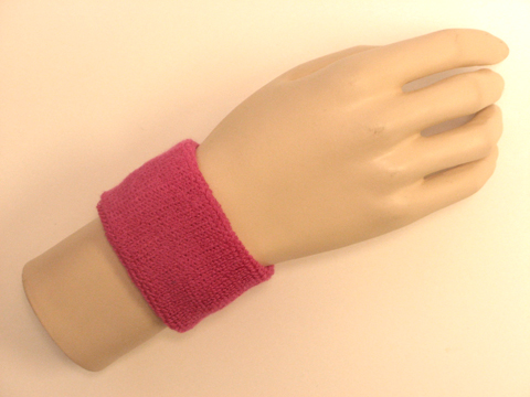Hot Pink Sports Wristbands