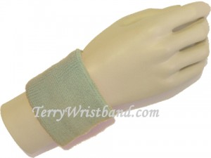Grey Sports Wristbands