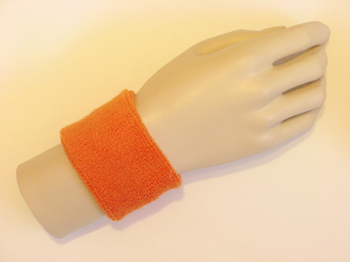 Orange Sports Wristbands