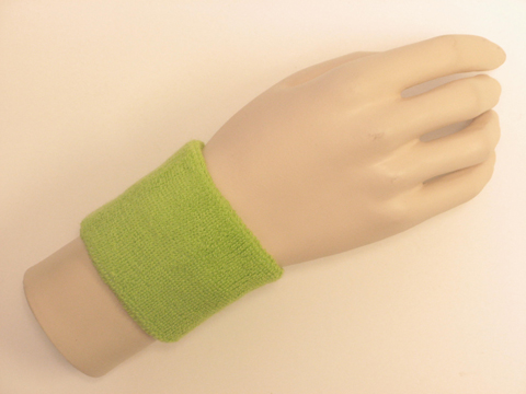 Lime Green Sports Wristbands