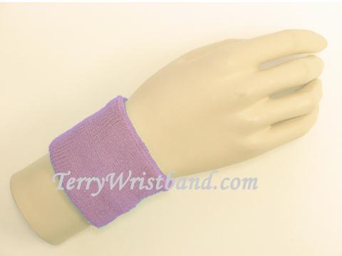 Lavender/ Purple Sports Wristbands