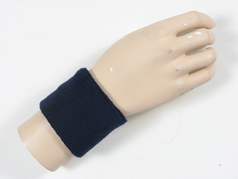 Navy Sports Wristbands