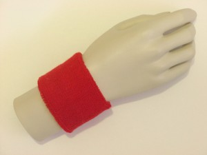 Red Sports Wristbands