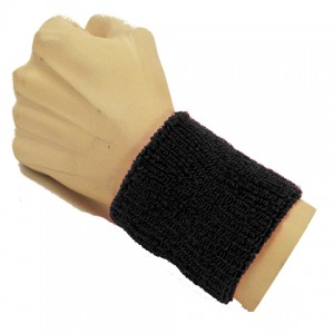 Black Wristband for Men