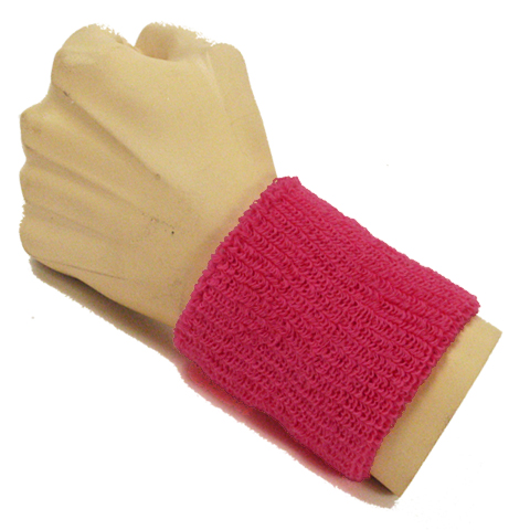 Hot Pink Wristband for Men