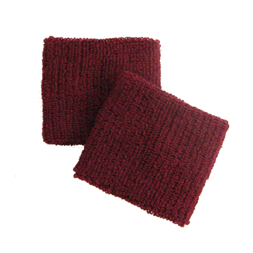 Maroon/ Burgundy Cheap Wristband